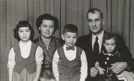 Nick, Betty Dyck and family