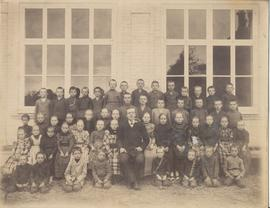 50 students and teacher Abraham Bauer