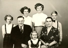 John & Elizabeth Peters Family