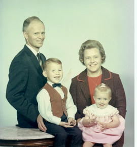 Verner & Anne Friesen Family