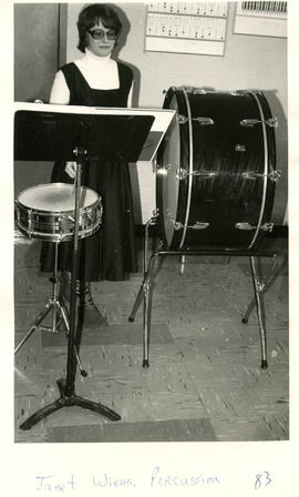 Janet Wiens, Percussion