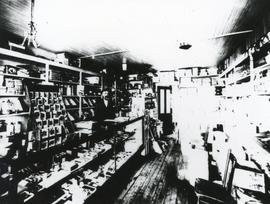 Interior of Isaac Loewen Store