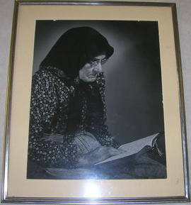 Unidentified Woman Reading