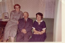 Hilda Balzer with her Parents