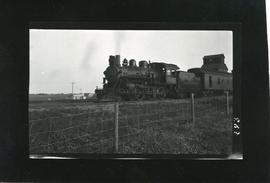 Canadian Northern Train at Rosthern enroute to Prince Albert
