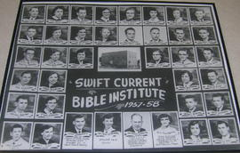 Swift Current Bible Institute 1958