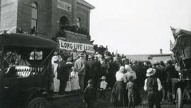 Prime Minister Wilfred Laurier on Tour