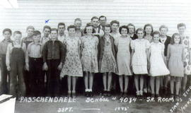 Passchendaele School, 1945, Senior Room