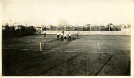 Tennis Court at German English Academy