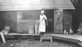 Cook at Seymour Mountain Alternative Service Camp