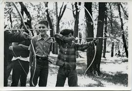 Archery at Camp Assiniboia