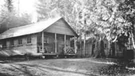 Bunk house at Cowichan camp