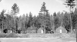 Buildings at Mile 10 Camp, Chalk River, Ontario