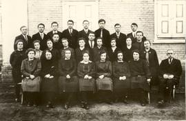 Church choir in Alexanderwohl, Molotschna, 1930