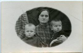 Helena Dyck with sons