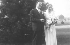 Harold Schmidt and Enid Culp wedding