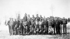 Group of conscientious objectors at Montreal River