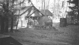 Dining hall at Cowichan camp
