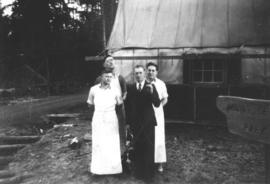 Kitchen staff at Seymour Mountain Camp