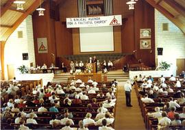 View from balcony of the 1990  General Conference of MB Churches convention
